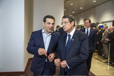 President: Cyprus supports restructuring of Greek debt