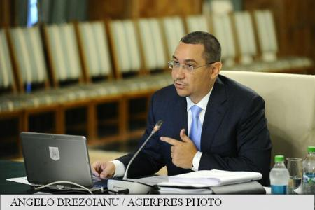 PM Ponta: Press report on discrepancy in President Iohannis' rental contracts is a lie