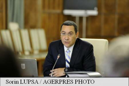 PM Ponta on budget revision: Gov't-Coalition agreement on agriculture, health, local authorities