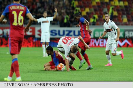 Soccer: Romania's Liga I results, standings after week 5