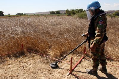 UNFICYP: Real momentum on demining in Cyprus, more work needed