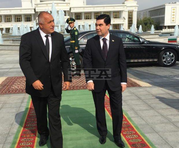 Bulgaria's PM Borissov, Turkmenistan's President Berdimuhamedow Discuss Deepening of Bilateral Economic Ties