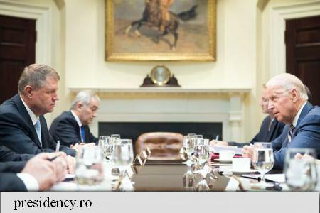 Iohannis: VPOTUS Biden voiced satisfaction over Romania's fight against corruption