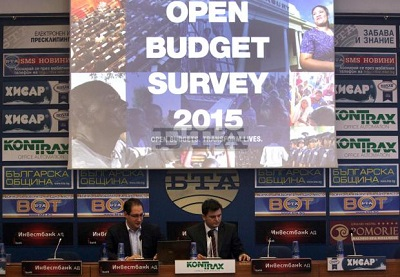 Bulgaria Retains Budget Transparency Score of 65 Points in Open Budget Survey 2015