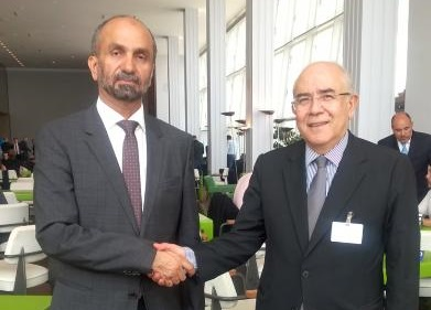 Omirou and Arab Parliament Head discuss Cyprus issue, Mideast, ISIS, refugee crisis