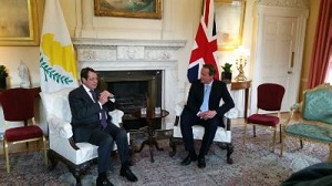 Anastasiades and Cameron discuss Cyprus talks, EU reform, refugee crisis and energy issues