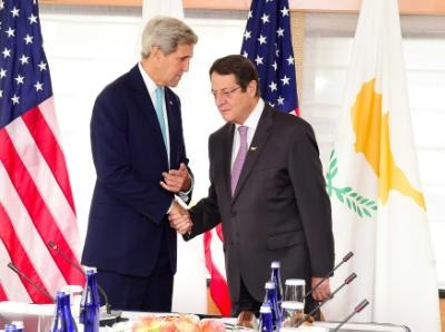 US State Secretary welcomes continued progress in Cyprus peace talks