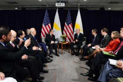 Biden: Cyprus reunification would unlock enormous opportunities for all Cypriots