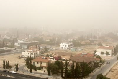 Dust phenomenon expected to retreat by Thursday