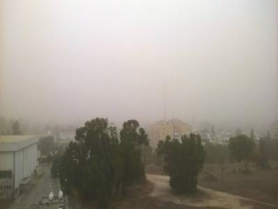 Cypriot and Israeli scientists monitor dust storm which has hit Cyprus
