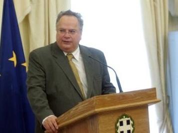 Greek FM discusses Cyprus peace talks with UNSG Envoy