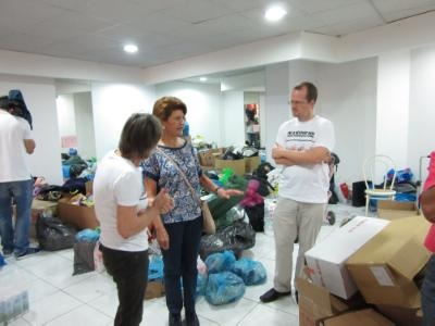 Volunteers and donations needed for Syrian refugees' collection