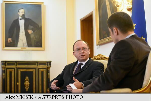 INTERVIEW Foreign Minister Bogdan Aurescu: More intense Russian rhetoric expected on missile defence