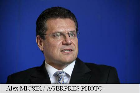 INTERVIEW / EC Vice-President Sefcovic: Romania will consolidate role as regional energy hub in SEE and Western Balkans