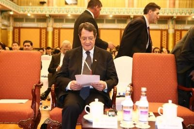 Cyprus issue-economic cooperation on the agenda of a meeting between the President and his Chinese counterpart