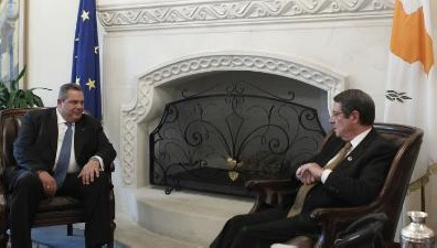 """Hellenism must stay united to end """"mockery"""" of Cyprus' guarantees, says Greek Defence Minister"""