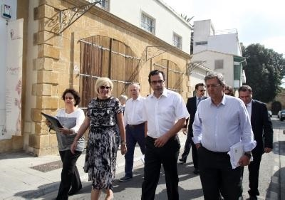 Commissioner Creţu visited the old part of Nicosia