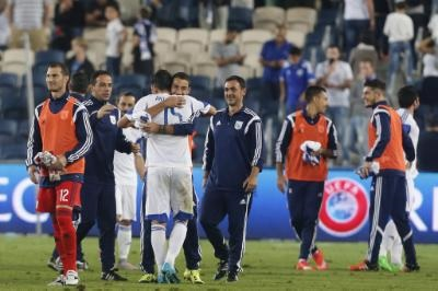 Cyprus' national team prepares for Tuesday's game against Bosnia
