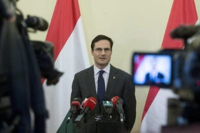 Hungarian FM holds contacts in Nicosia