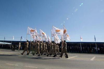 Cyprus celebrates Independence Day with a military parade in Nicosia
