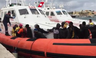 Syrian refugees rescued by Cyprus Coast Guard