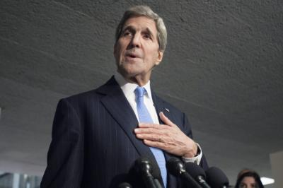 AHI raises Cyprus issue to John Kerry in view of his visit to Cyprus