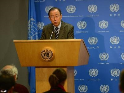 """UN Secretary General welcomes Turkey's decision to provide access for CMP teams to """"military areas"""""""