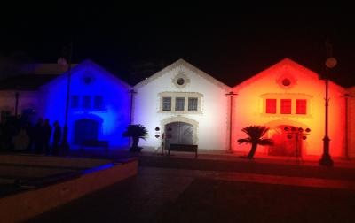 Cypriots display solidarity to France at various events throughout the island