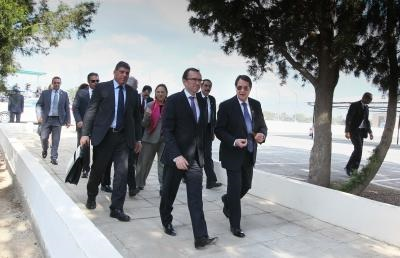 Leaders continue Cyprus reunification talks