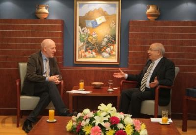 House President and Deputy Chairman of Parliament of Iceland discuss the banking crisis in Cyprus and Iceland