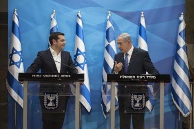 Tsipras announces tripartite meeting between Greece, Cyprus and Israel early January