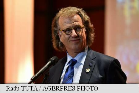 Andre Rieu to perform in Bucharest's Constitution Square on June 11, 2016