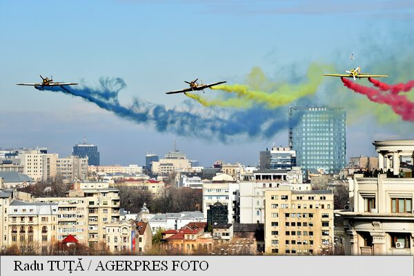 Romania's National Day – Military Parade in Constitution Square