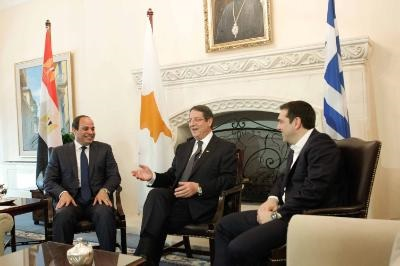 Greece-Cyprus-Egypt Tripartite Conference on Wednesday in Athens