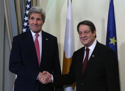 Greek and Cypriot Americans briefed by Sloat on Kerry's visits to Greece and Cyprus