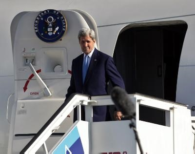 Cyprus' reunification process on John Kerry's agenda in Athens