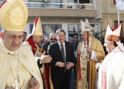 Cardinal Leonardo Sandri sends wishes for peace and prosperity in Cyprus