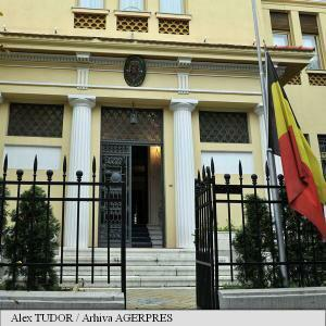 Embassy of Belgium in Romania opens book of condolence for Brussels attacks victims