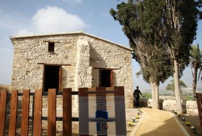 Deneia mosque hit by arson attack has been fully restored