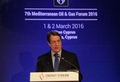 President: Cyprus advances its strategy to create a gas-corridor from East-Med to Europe