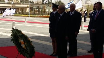 Israeli officials support a Cyprus solution based on international law an UN decisions
