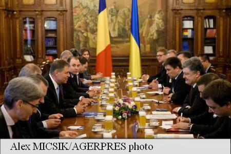 President Iohannis promises Romania's support to Ukraine's domestic reforms