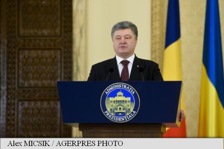 Ukrainian President Poroshenko: We support Romania's initiative to create NATO Black Sea flotilla