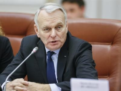 French FM reaffirms his country's support to Cyprus' reunification