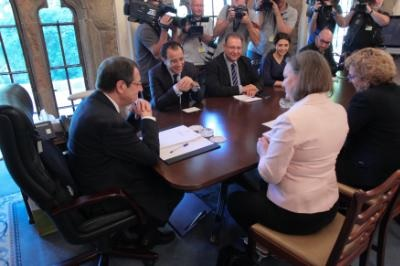 Anastasiades – Nuland meeting focuses on Cyprus talks, bilateral ties and trade relations