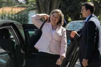 Nuland reaffirmes U.S. support for a Cyprus solution, State Department official says