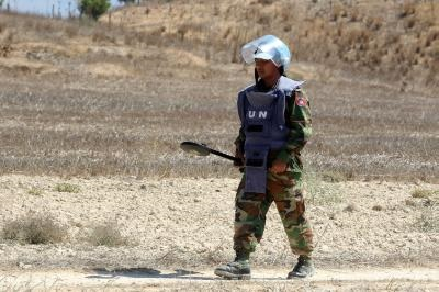 UNFICYP: 7 m. euro needed to clear more than 7,000 mines in Cyprus