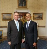 President Iohannis at White House