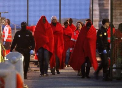 183,017 migrants entered Europe by sea in 2016 through Greece, Italy, Spain and Cyprus