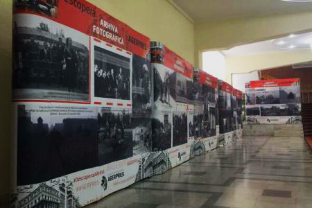 First exhibition of AGERPRES archive photographs opens in Chisinau